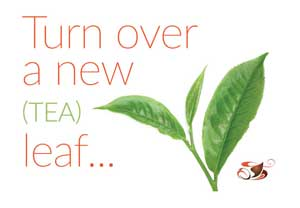 turn over a new tea leaf
